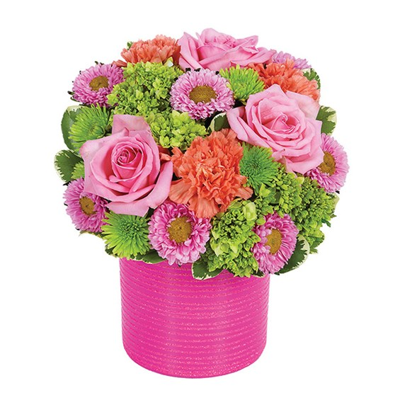 """She's Dazzling"" flower bouquet (BF339-11KM)"